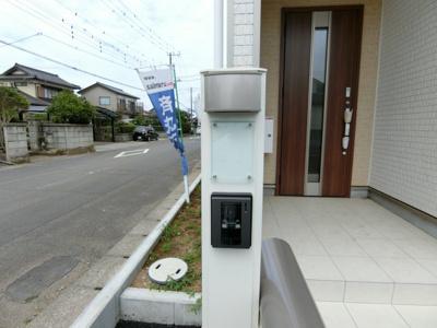 【玄関】鹿嶋市港ケ丘第1 新築戸建 2号棟