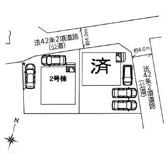 【区画図】さいたま市西区三橋第15