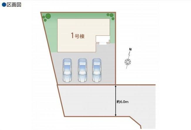 【区画図】豊見城市豊崎 新築戸建住宅