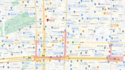 【地図】ローレルタワー御堂筋本町