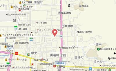 【地図】オックスフォードサーカス山越