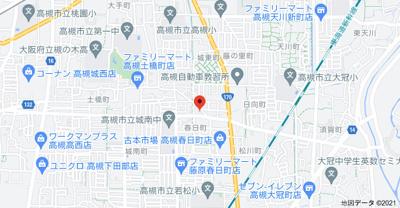【地図】スカイハイツ辻崎