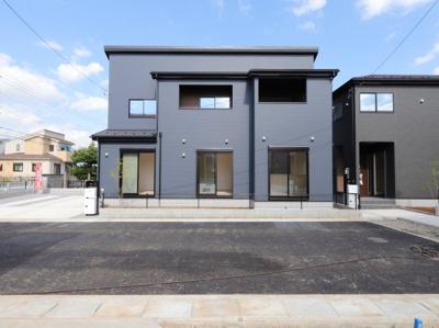 外観です:建物完成しました♪♪毎週末オープンハウス開催♪吉川新築ナビで検索♪