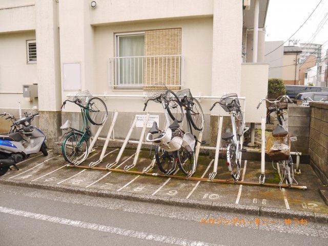 【駐輪場】要町マイコーポ