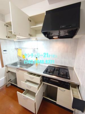 【キッチン】アトリウム白鷺(シラサギ)