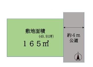 千葉市若葉区桜木北 土地 桜木駅 南側も抜けておりますので、陽当たり良好!