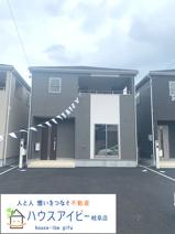 岐阜市粟野東 新築建売全3棟 お車スペース並列3台可能!インナーバルコニーのあるお家 バス停徒歩3分の画像