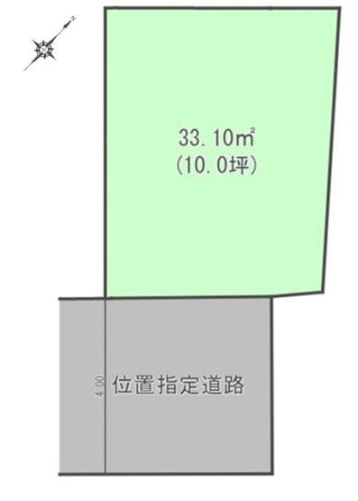 【土地図】【建物自由設計】文京区白山4丁目 売地