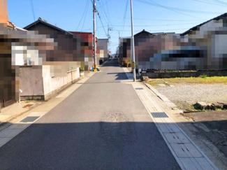 【前面道路含む現地写真】近江八幡市慈恩寺町中 売土地