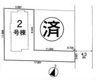 【区画図】新築戸建/入間郡三芳町大字藤久保(全2棟)