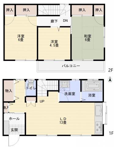【キッチン】曽屋テラスハウス