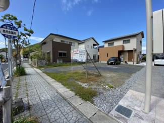 【外観】近江八幡市西元町 3号地 売土地