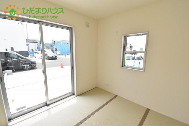 【和室】見沼区上山口新田 新築一戸建て リーブルガーデン 06