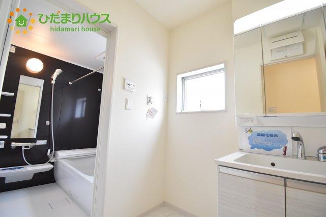 【洗面所】見沼区上山口新田 新築一戸建て リーブルガーデン 06