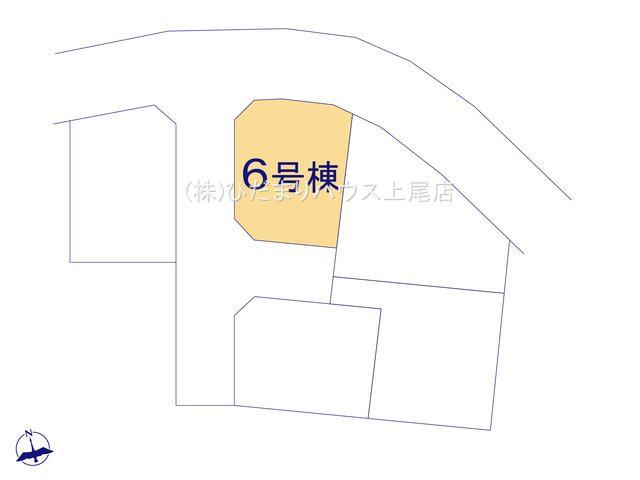 【区画図】見沼区上山口新田 新築一戸建て リーブルガーデン 06