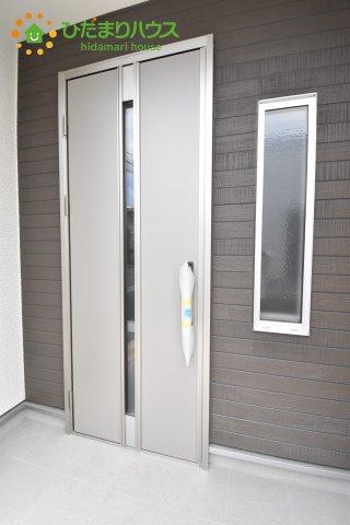 【玄関】見沼区上山口新田 新築一戸建て リーブルガーデン 06