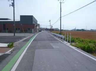 【前面道路含む現地写真】東横関フォレストタウン【5区画】1号地 売土地