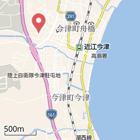 【地図】サニーヒル今津WEST