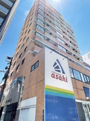 【外観】アシェール上野北 5階 角 部屋 リ ノベーション済 1999年築