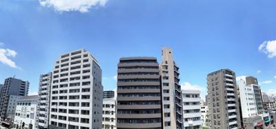 【展望】アシェール上野北 5階 角 部屋 リ ノベーション済 1999年築