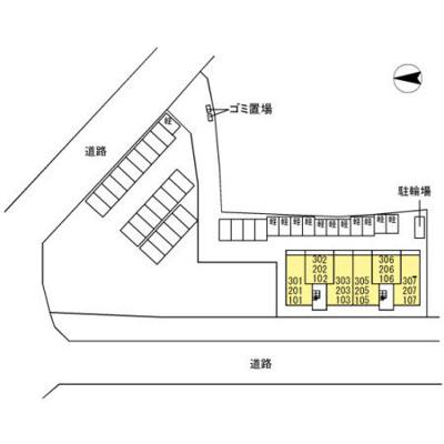 【区画図】ピースコート  プラグレス