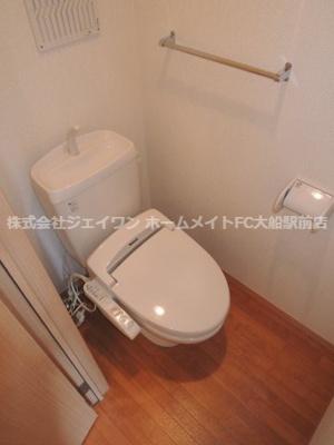 【トイレ】ウエスト・ベルグ鎌倉C