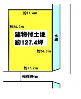【土地図】守山市川田町 売土地