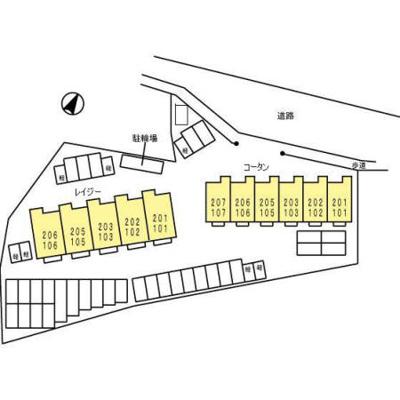 【区画図】レイジー / コータン レイジー