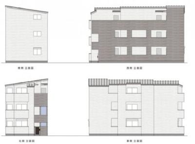 【外観】T.A足立区大谷田3丁目Ⅱ B棟