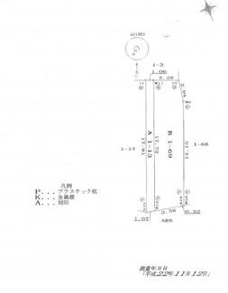 【土地図】小屋付針江51坪土地