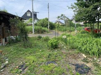 【外観】小屋付針江51坪土地