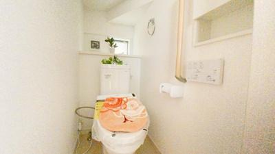 1Fと2Fにトイレを確保