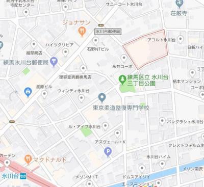 【地図】ガーラ・ヒルズ氷川台