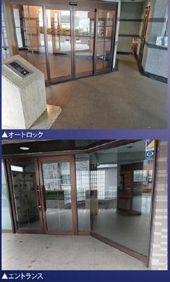 【エントランス】ナイスアーバン亀戸俵山 3DK 2階 1993年築