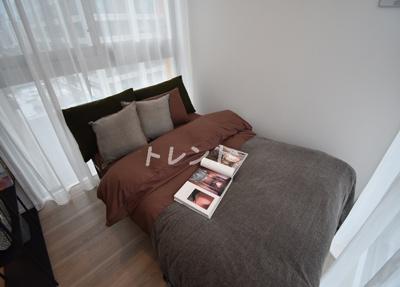 【寝室】ライオンズフォーシア白金高輪