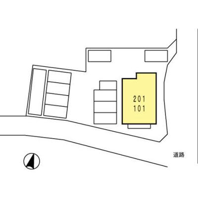 【区画図】ヴィラ市原