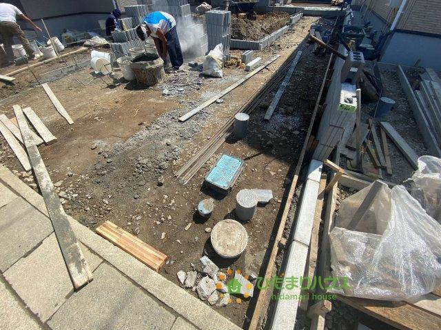 【前面道路含む現地写真】羽生市北 20⁻1期 新築一戸建て 02 リナージュ