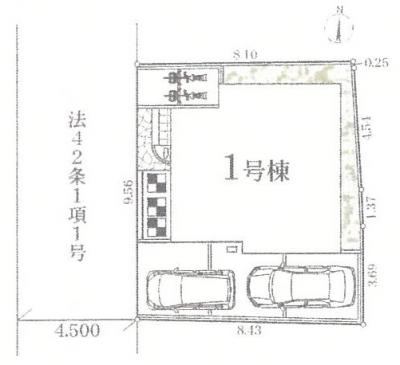 【区画図】京王相模原線 JR横浜線 橋本駅 緑区二本松3丁目 新築戸建て
