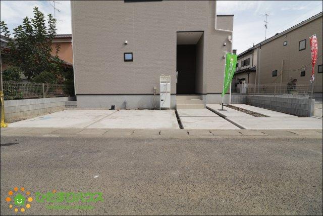 【前面道路含む現地写真】羽生市北 20-1期 新築一戸建て 01 リナージュ