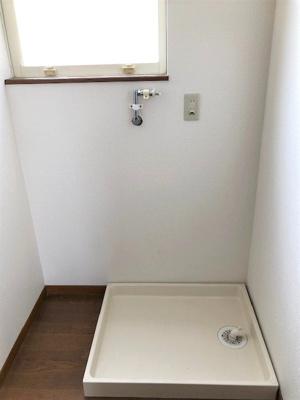 室内洗濯機置場、