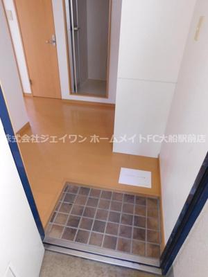 【玄関】ルーデンス鎌倉