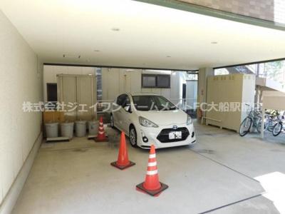 【駐車場】ルーデンス鎌倉