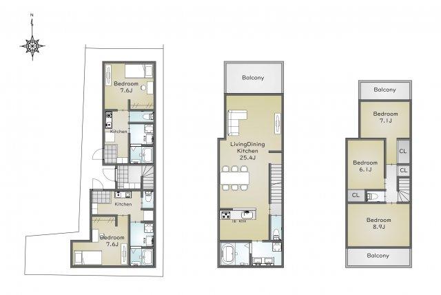 建物参考価格3,500万円(税込)・延床面積158.36㎡