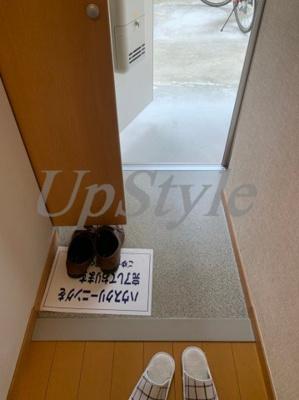 【玄関】ケーエヌハウス五反野B