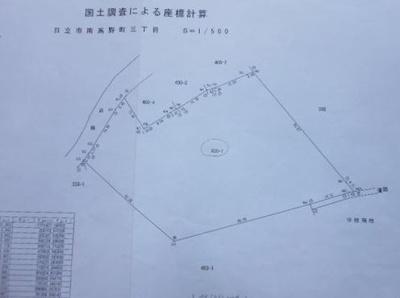 【地図】南高野町 売地