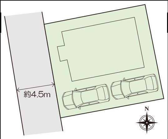 カースペース2台可能です。本日、建物内覧できます(^^)/住ムパルまでお電話下さい!