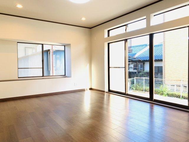 【区画図】高崎市八幡町 中古住宅