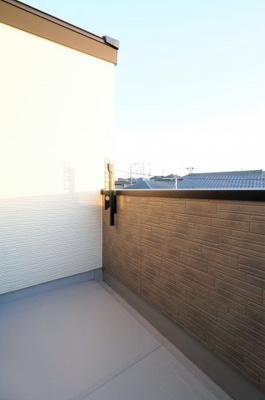 【バルコニー】新築戸建て さいたま市第10南区太田窪