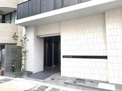 【エントランス】クレストコート広尾