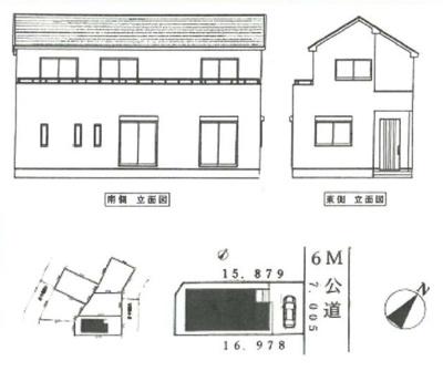 【区画図】新築戸建て さいたま市緑区松木3丁目